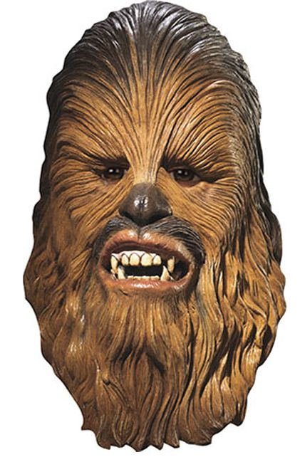 Masque Chewbacca Licence Star Wars