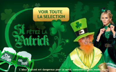 Déguisement de Saint-Patrick : Le vert et le chapeau à l'honneur