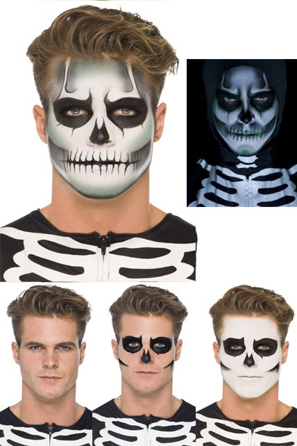 maquillage halloween pour homme avec barbe. Black Bedroom Furniture Sets. Home Design Ideas