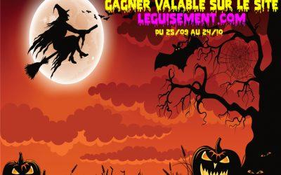 Jeu concours Halloween 2017 : 10 Bons d'achats de 30€ à gagner !