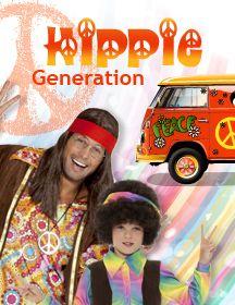 deguisement hippie