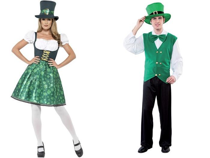 Saint Patrick : Déguisement irlandais et chapeau vert à l'honneur