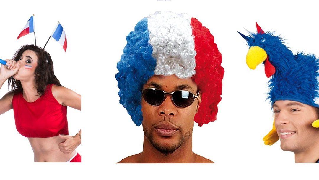 Coupe du monde 2018 : Accessoires supporteur des Bleus aux meilleurs prix